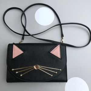 Kate Spade Jazz Things Up Cat Winni Crossbody